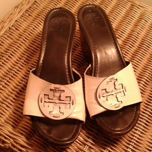 Tory Burch Wedge patent leather7.5